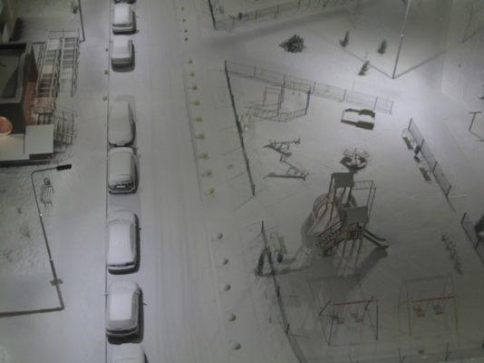 В Киеве снова снег