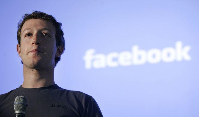 Скандал с Марком Цукербергом