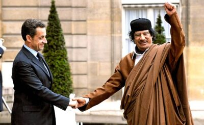 Саркози задержен полицией по делу Каддафи