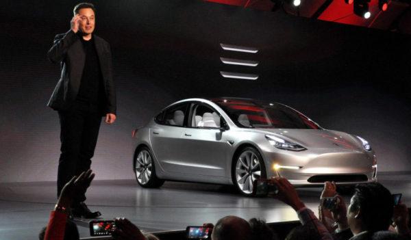 Model 3 Тесла Презентация