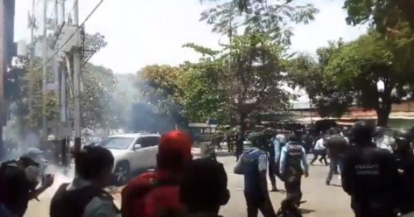 Пожар в тюрьме Венесуэлы