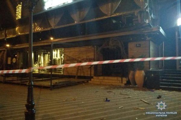 Киевгорстрой - результат обстрела с гранатомета