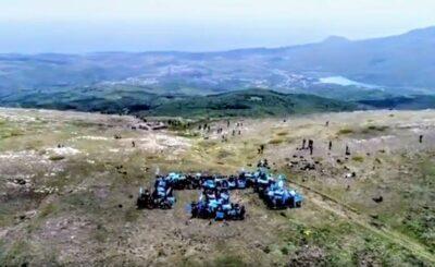 Кримські татари на горі Чатир-Даг